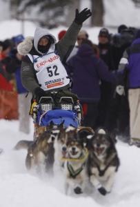 Kim Darst 2009 Iditarod