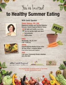 Healthy Summer Eating CRMG flyer 07 19 17-small file