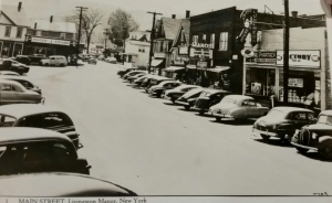 Main Street with theatre 1951